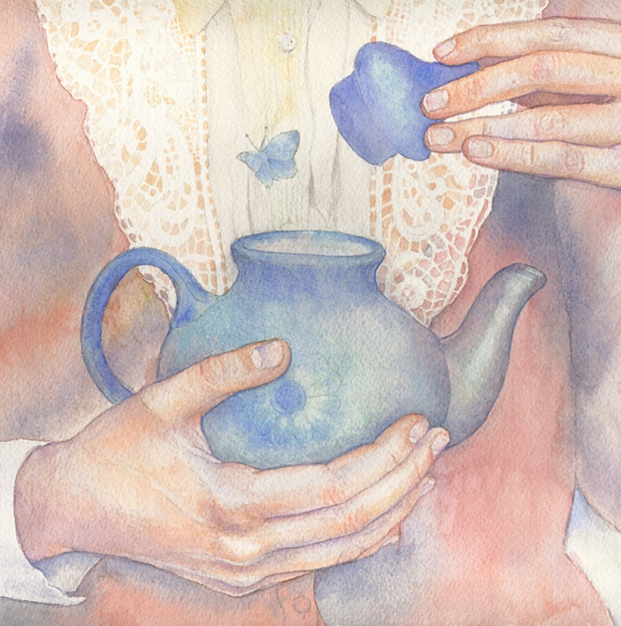 the magical world of dreams in gentle watercolors by russian artist