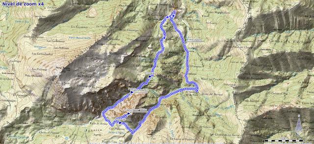 Mapa ruta Peña Arpín