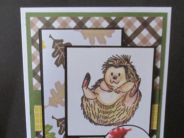 Mojo Monday 462: Hedge Hogs Cards
