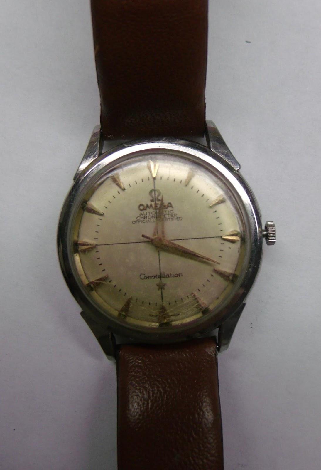 8d9858225fd Relógio de pulso Omega constellation caixa de aço. Ano de fabricação 1958.