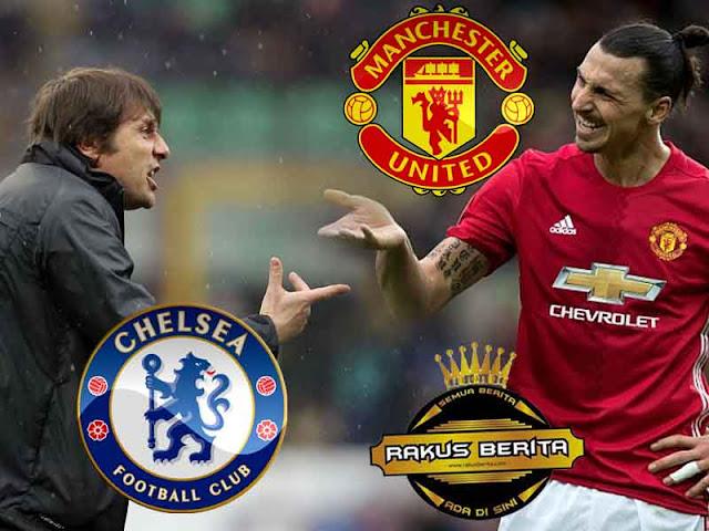Conte : 'Chelsea Harus Waspada Dengan Sosok Ibrahimovic'