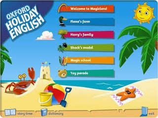 HOLIDAY ENGLISH 1