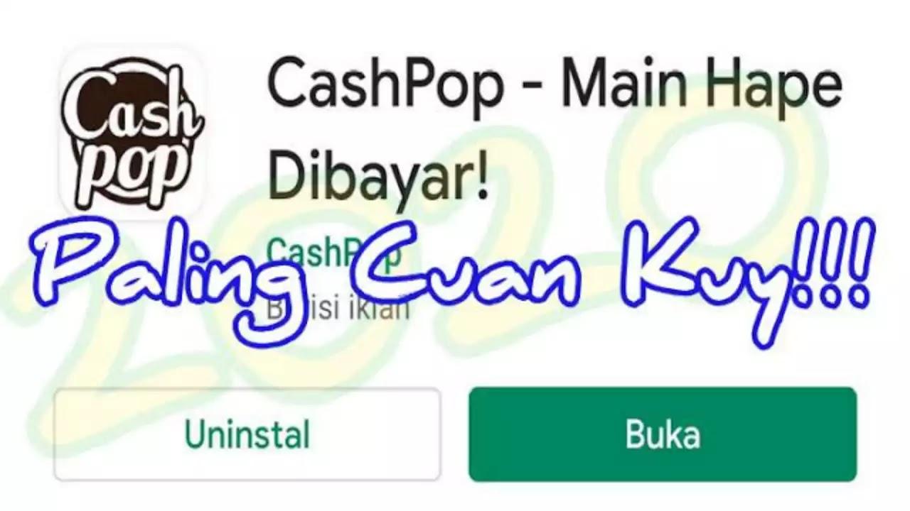 Cashpop adalah aplikasi reward points digunakan untuk menghasilkan gold poin dengan mudah Terima kasih Aplikasi Cashpop Bisa Gajian Gopay 2020