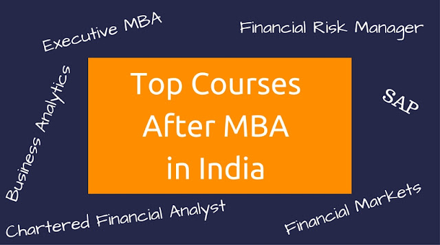 courses after MBA in India