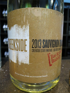 Creekside Backyard Bubbly Sauvignon Blanc 2013 - VQA Creek Shores, Niagara Peninsula, Ontario, Canada (89 pts)