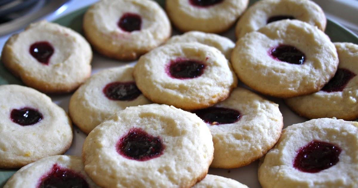 Food Network Raspberry Thumbprint Cookies