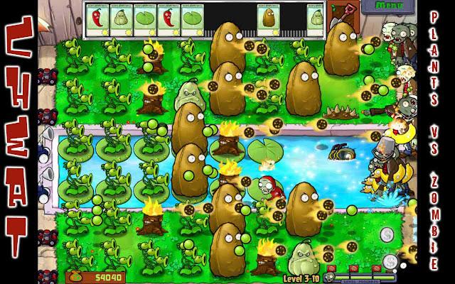 Cheat Plant vs Zombie Android Gratis