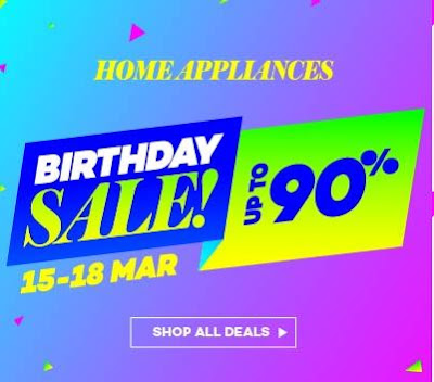 Offer Gila-Gila Sempena Birthday LAZADA
