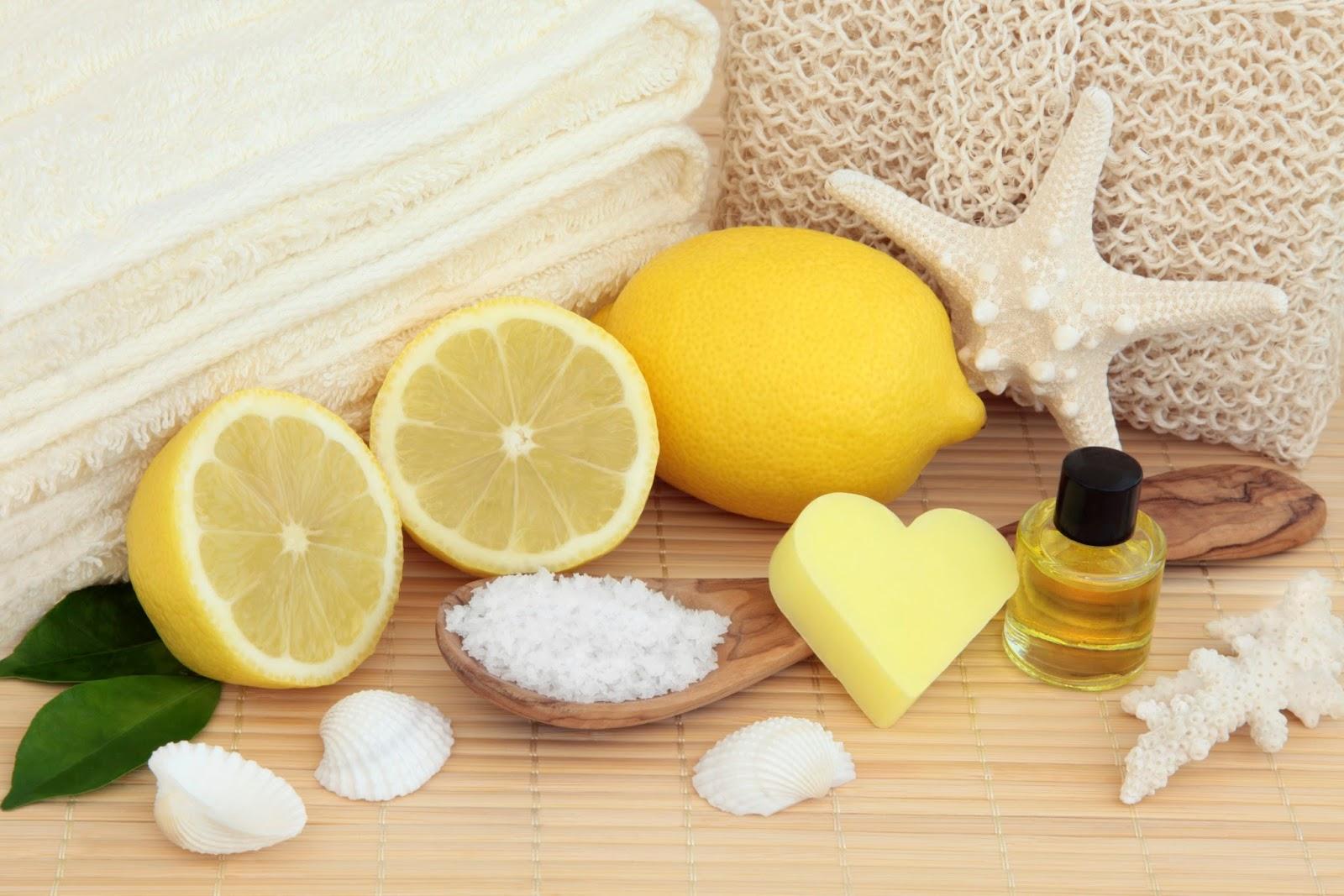Máscara de mel e limão