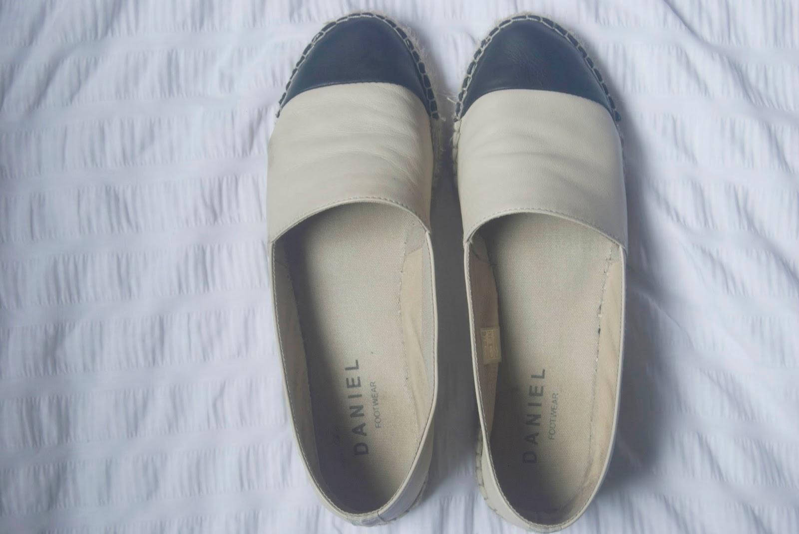 daniel footwear espadrille review