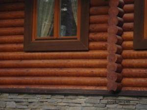 Как выглядят деревянные стены