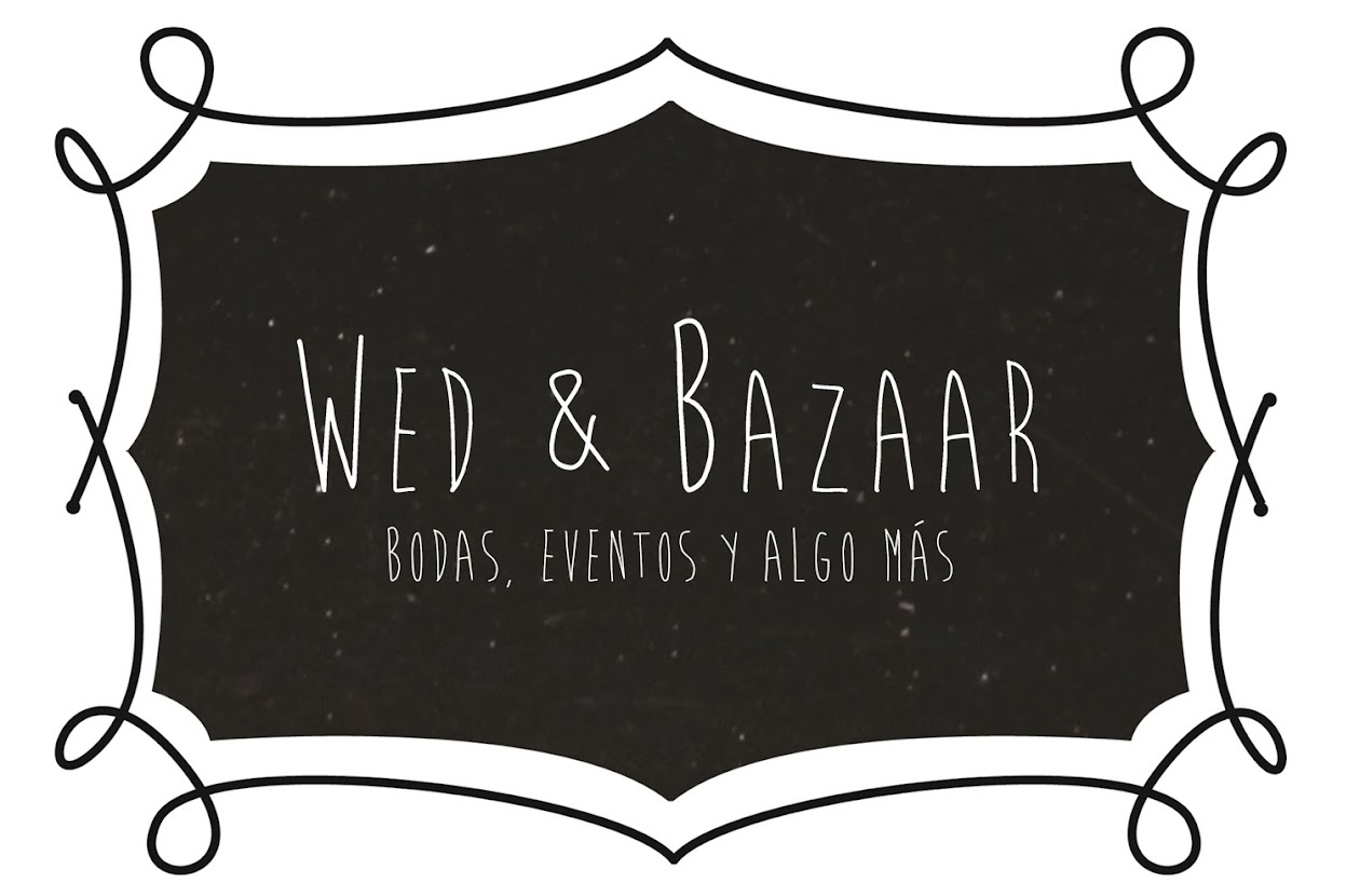 Wed and Bazaar / organización de bodas y eventos. Salamanca