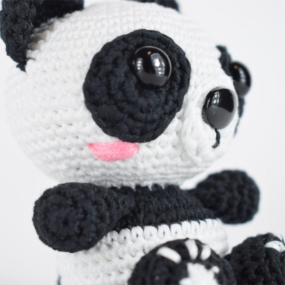 El blog de Dmc: Patrón de ganchillo gratis: Panda de amigurumi de ...