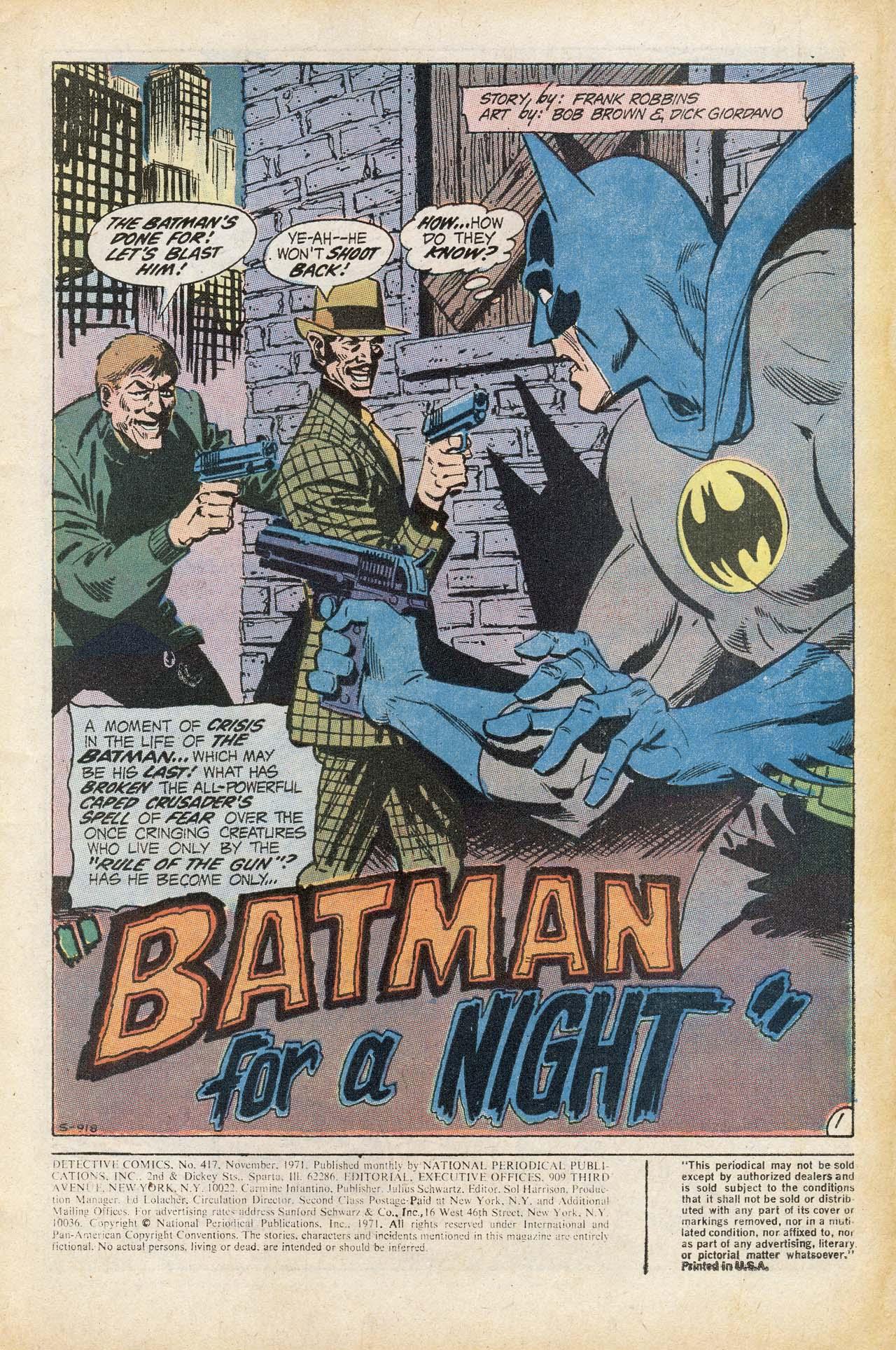 Detective Comics (1937) 417 Page 2