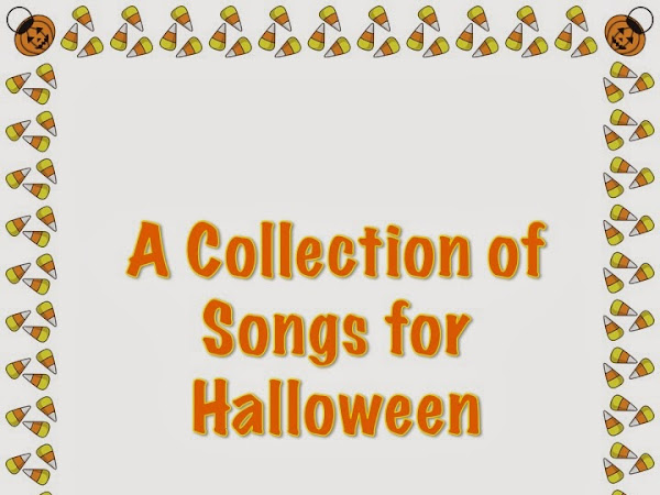 A Collection of Songs and PDFs for Halloween
