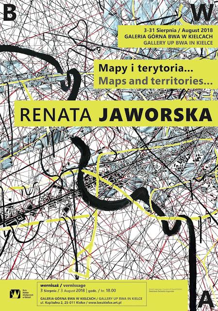 BWA, Kielce, Map and territory, Karten und Gebiete, Michel Houellebecq,