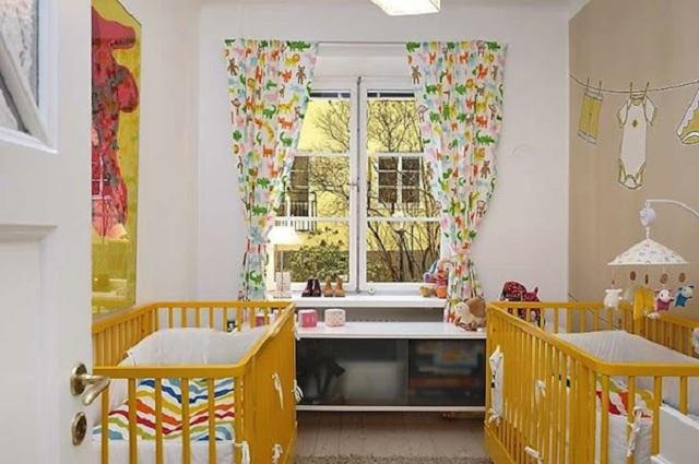Dormitorios para bebes gemelos o mellizos - Babyzimmer zwillinge ...