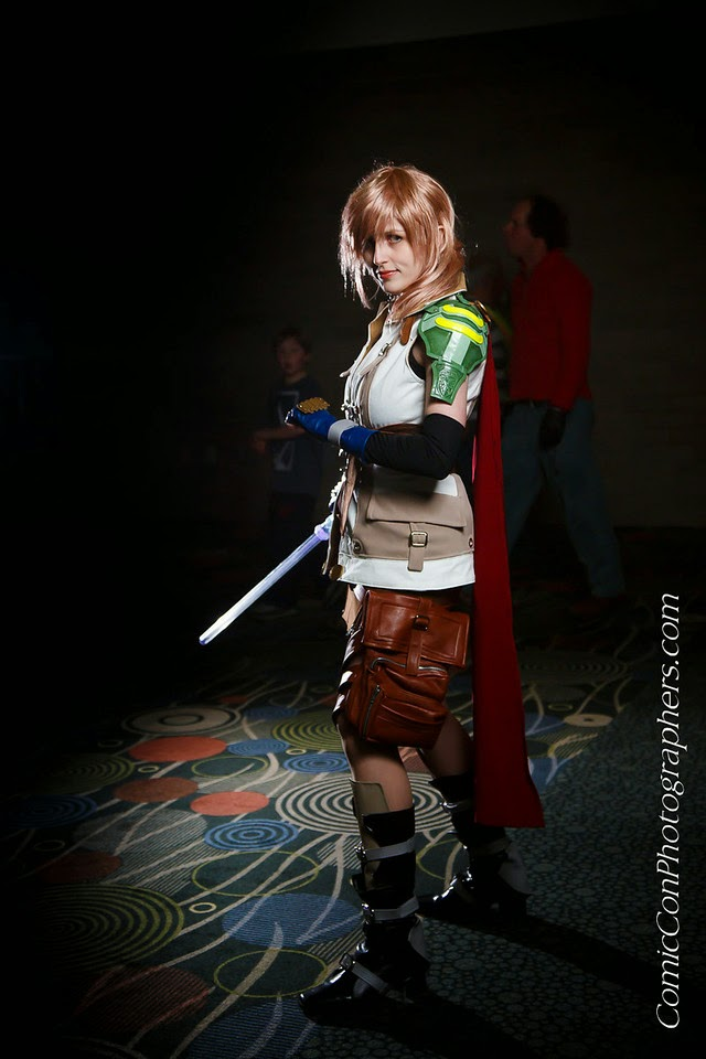 sailor crafty lightning cosplay photo from final fantasy xiii