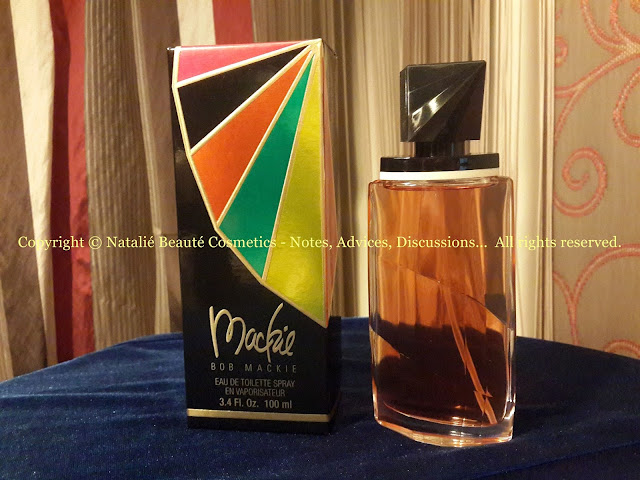 MACKIE by BOB MACKIE PERSONAL PERFUME REVIEW AND PHOTOS NATALIE BEAUTE