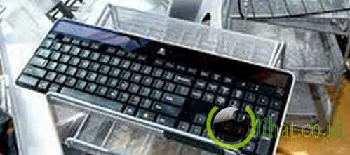 Solar Powered Keyboard
