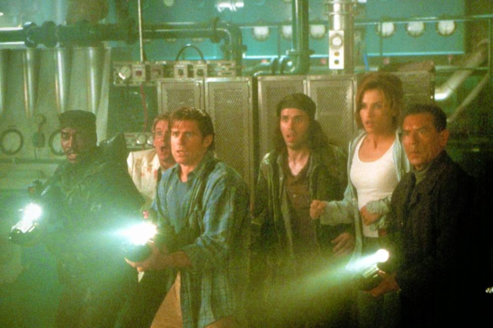 Deep Rising sci-fi action cast 1998