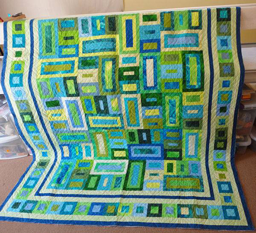 Peaches & Dreams Quilt Free Pattern  Designed by Judy Laquidara of Patchwork Times