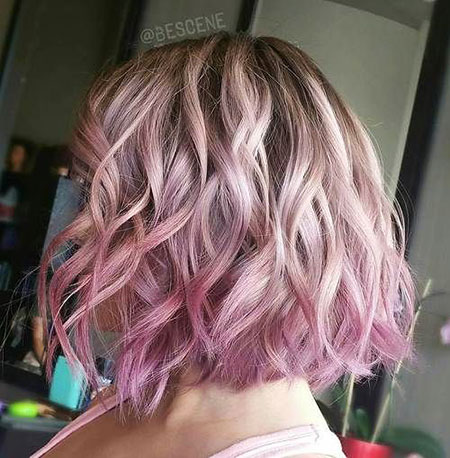 ombre for short hair 2018