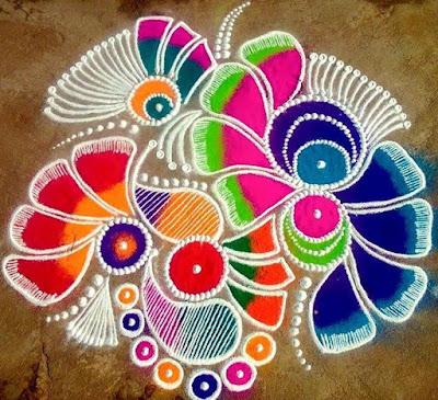 Pongal Rangoli Kolam Designs