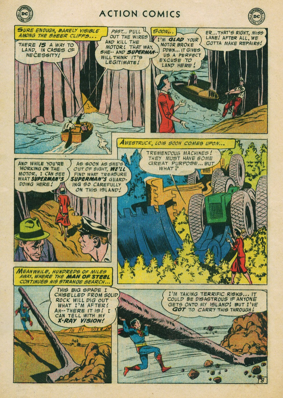 Read online Action Comics (1938) comic -  Issue #224 - 10