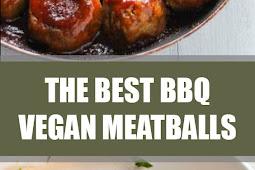The Best BBQ Vegan Meatballs