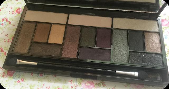 makeup revolution pro looks big love eyeshadows