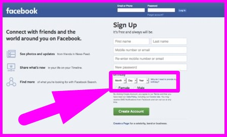 facebook login signup and more