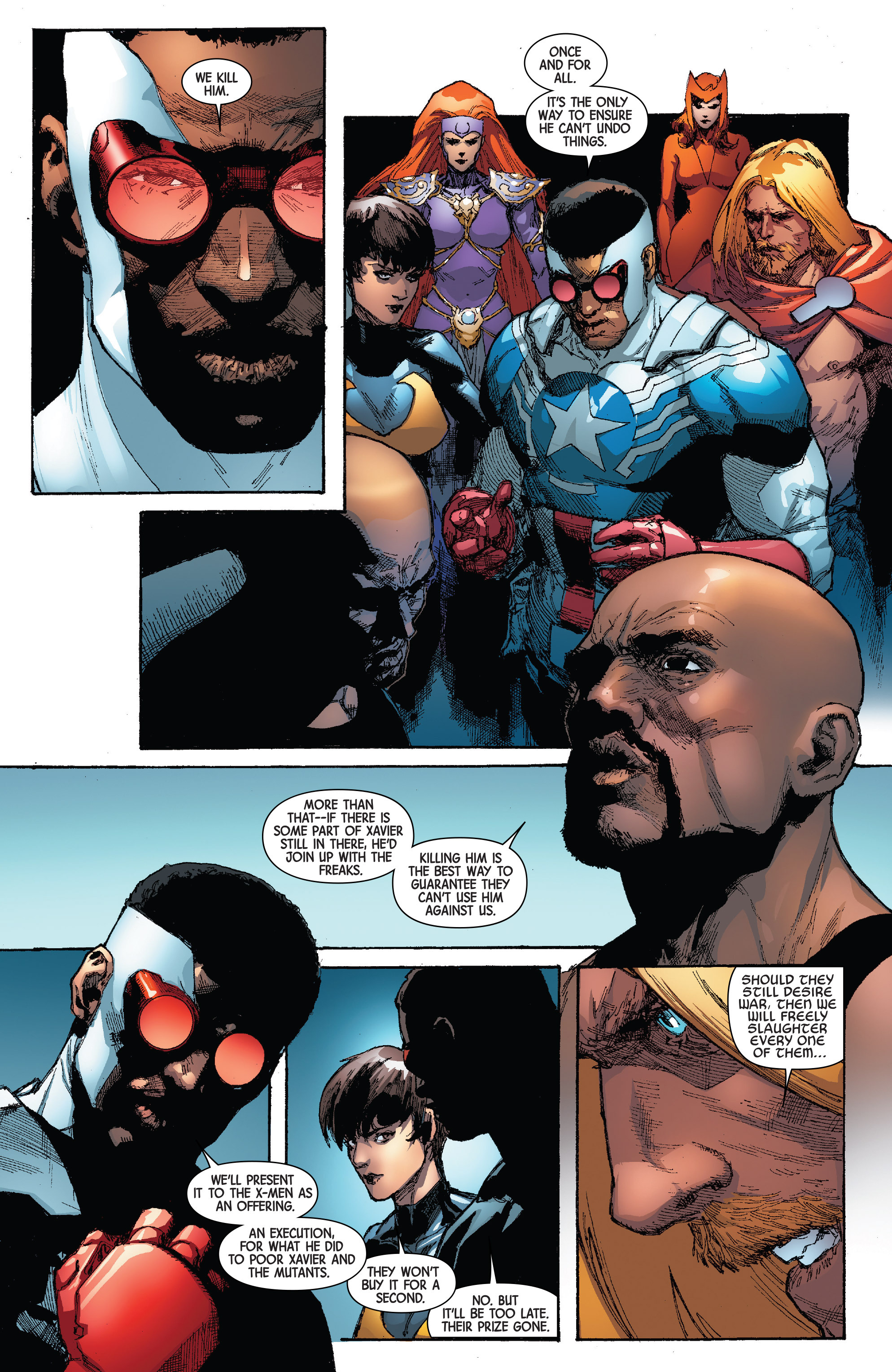 Read online Avengers & X-Men: AXIS comic -  Issue #4 - 20