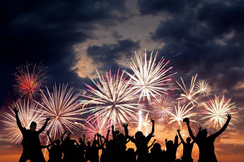 Happy New Year Rousing Celebration