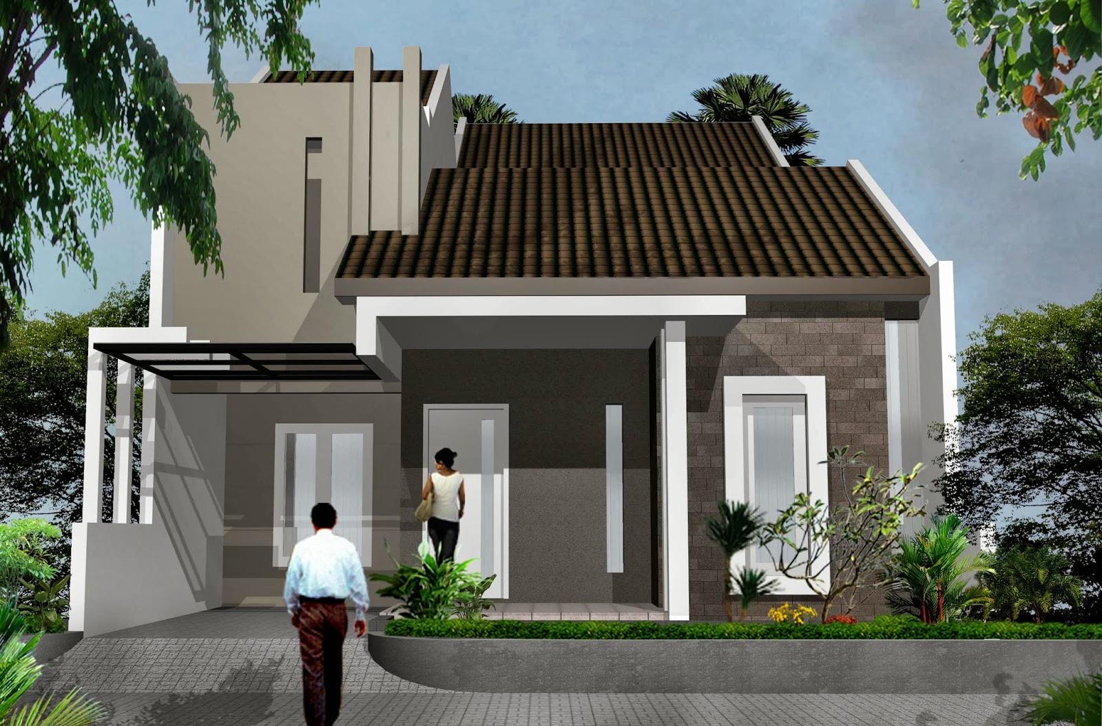 100 Contoh Foto Desain Rumah Minimalis 2 Lantai 2017 Terbaru