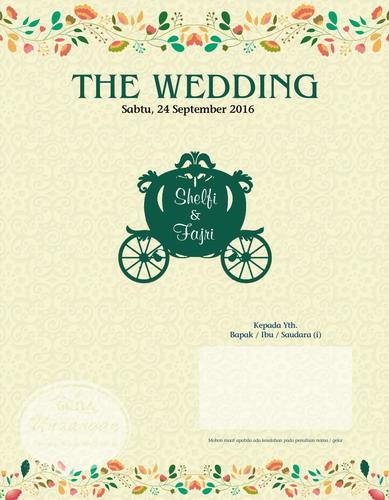 Undangan Pernikahan Amplop