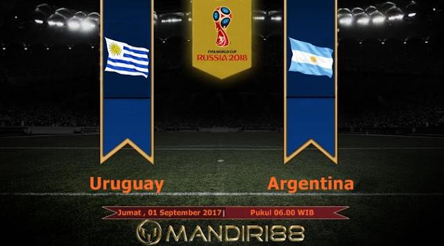 Prediksi Bola : Uruguay Vs Argentina , Jumat 01 September 2017 Pukul 06.00 WIB