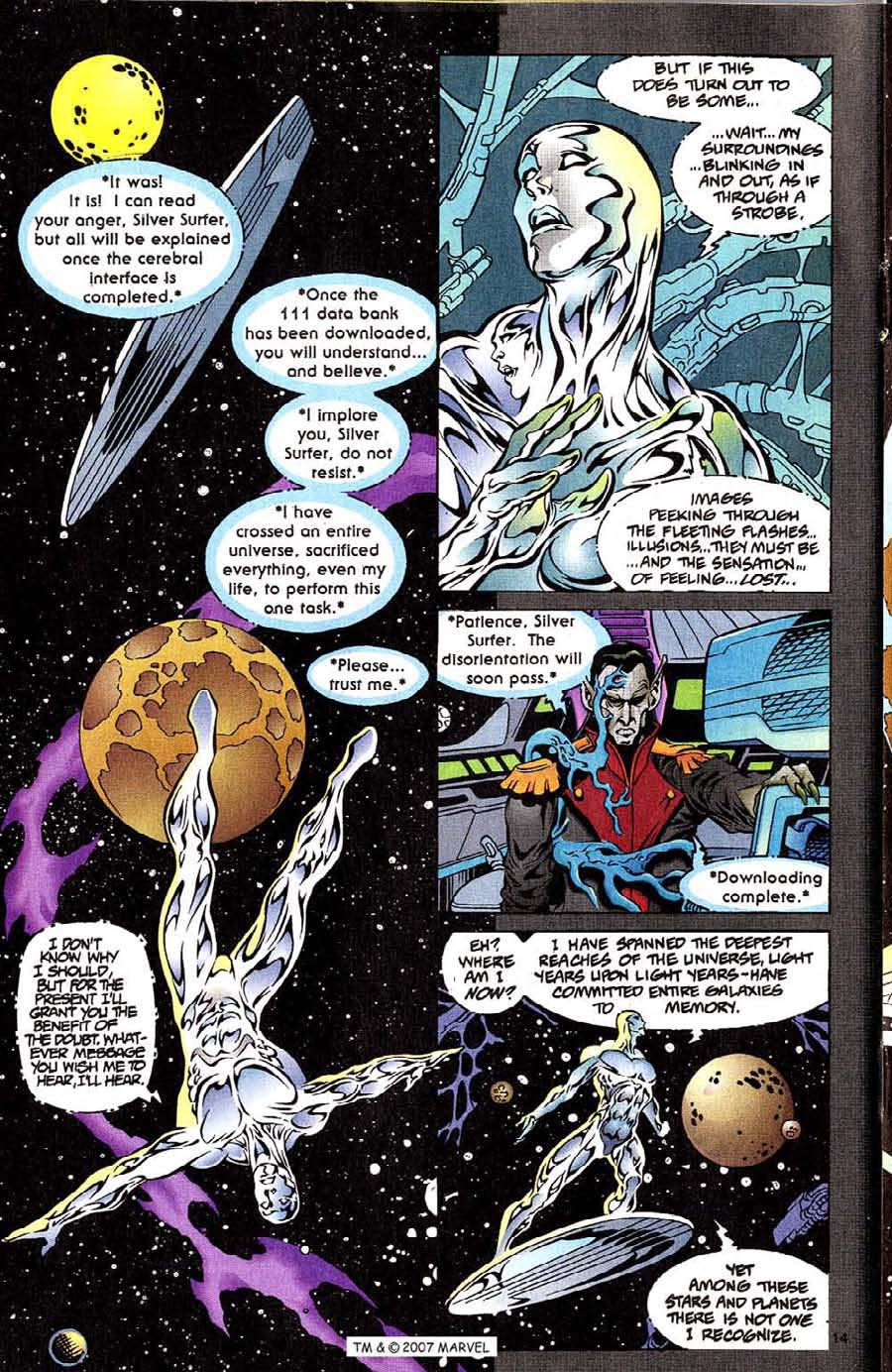 Read online Silver Surfer (1987) comic -  Issue #111 - 16
