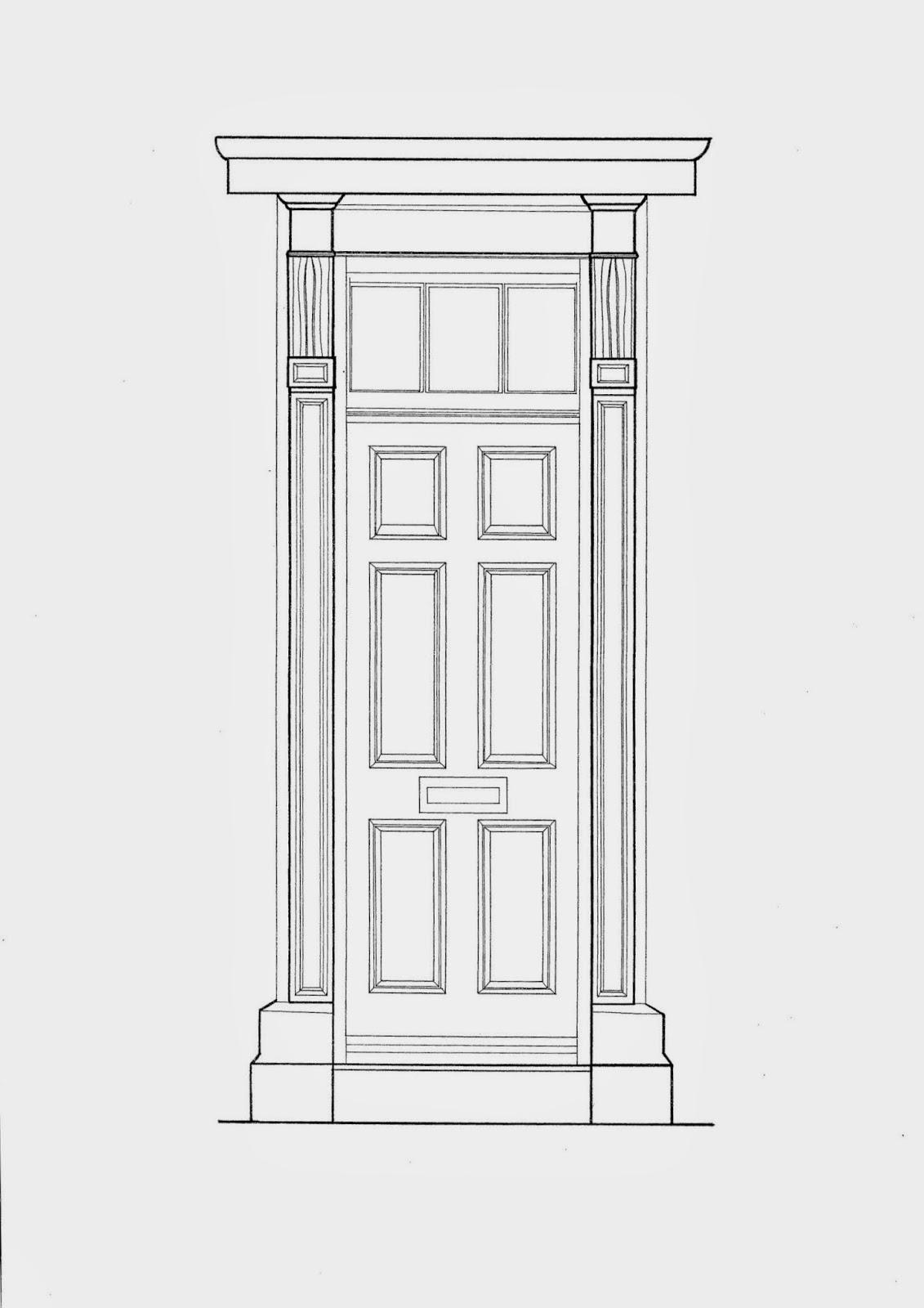 Front Door Drawing