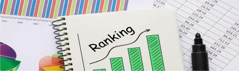 membuat ranking dengan formula COUNTIFs
