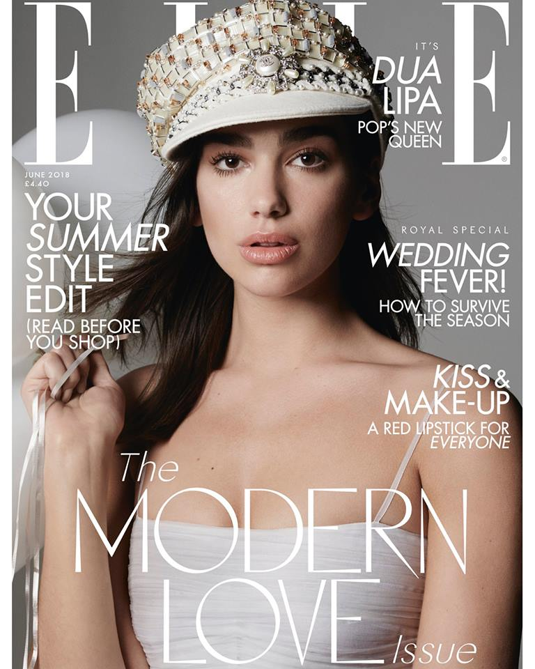 Dua Lipa dazzles in stunning cover shoot for ELLE