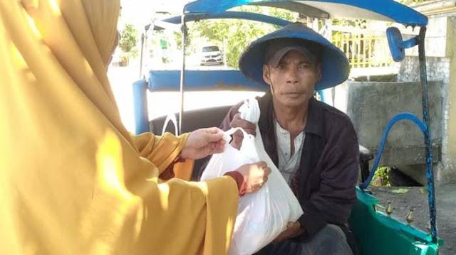 POM SD Wahdah Adakan Baksos Ramadhan 18
