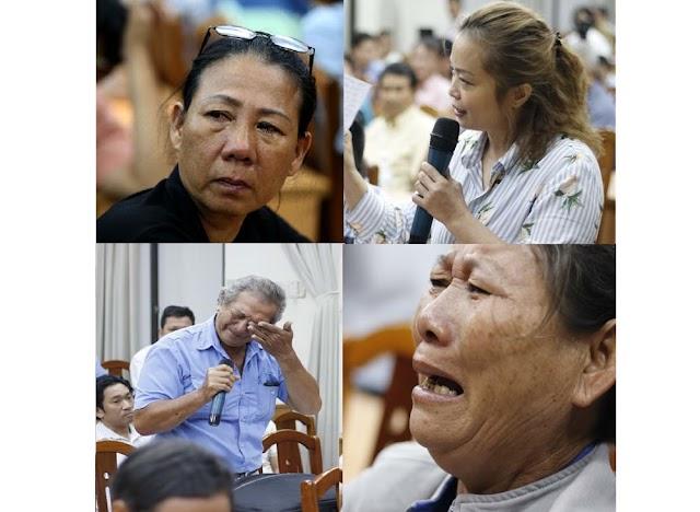 Nước mắt dân Thủ Thiêm có chảy vào… Quốc hội?