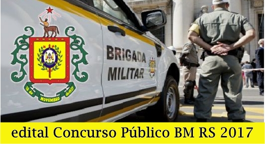 Concurso Polícia Ostensiva RS 2017