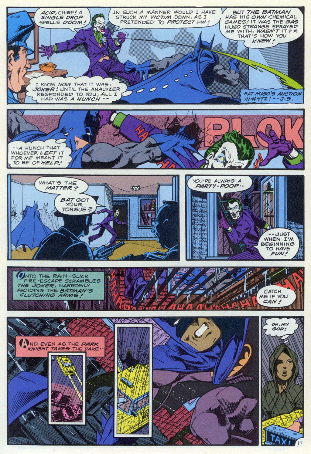Read online Shadow of the Batman comic -  Issue #4 - 31