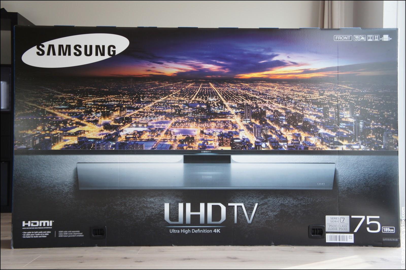 4k Uhd Tv Samsung Ue75hu7500 A Complete Review ‣ Part 1