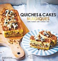 livre quiches et cakes magiques marabout