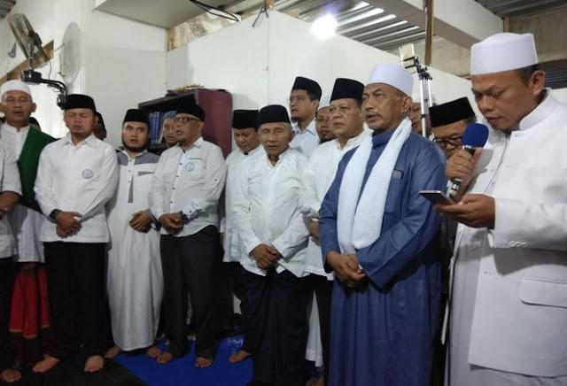 Bersama Wali Kota Bogor, Prabowo dan Amien Rais Hadiri Deklarasi Gerakan Indonesia Shalat Subuh