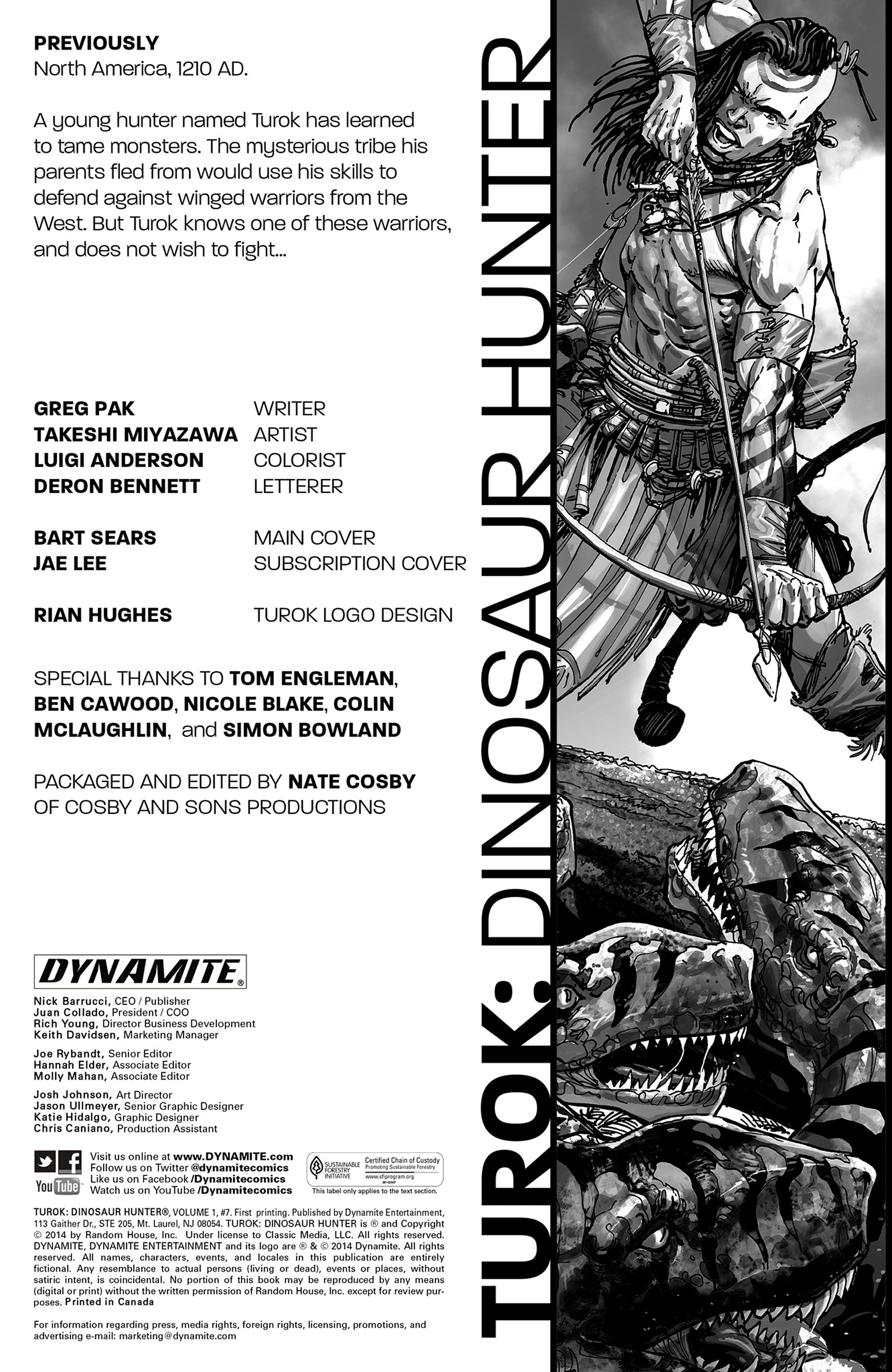 Read online Turok: Dinosaur Hunter (2014) comic -  Issue #7 - 2