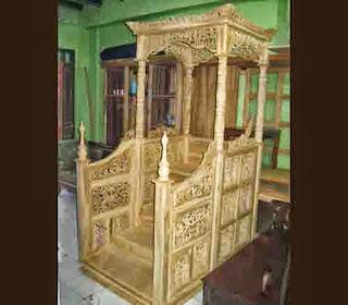 mimbar masjid, pembuat mimbar masjid, pengrajin mimbar masjid, harga mimbar masjid, mimbar masjid kayu jati, mimbar masjid murah